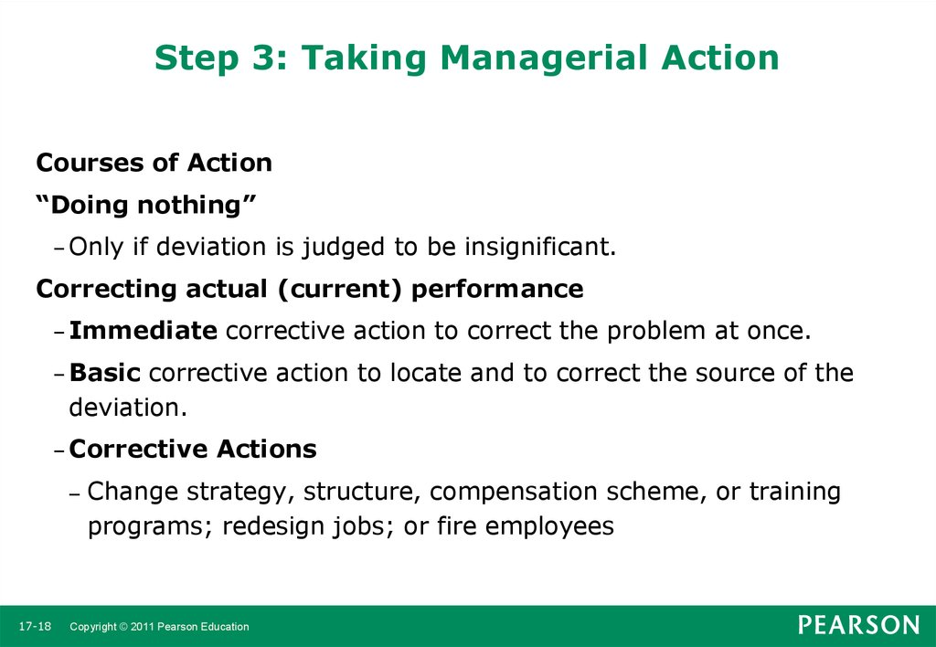8 steps in management by objectives by robbins Kotter's eight-step plan for implementing by steve robbins lack of incentives and metrics in management goals and objectives.