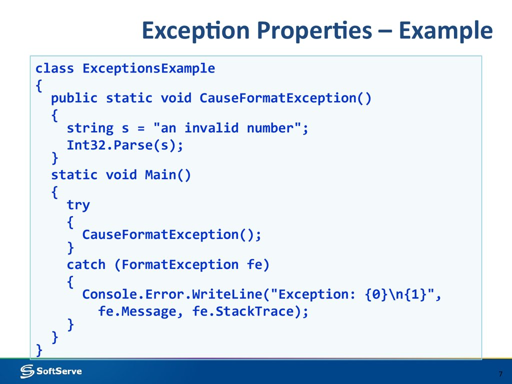 exception handling in java with examples pdf