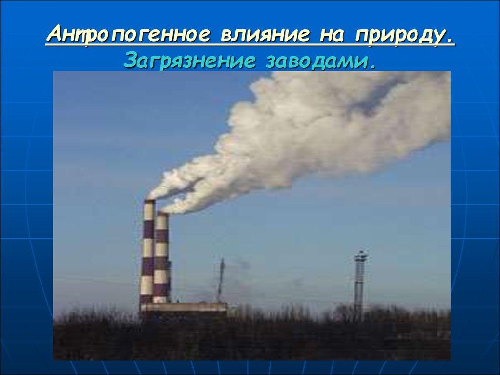 физическое загрязнение среды презентация