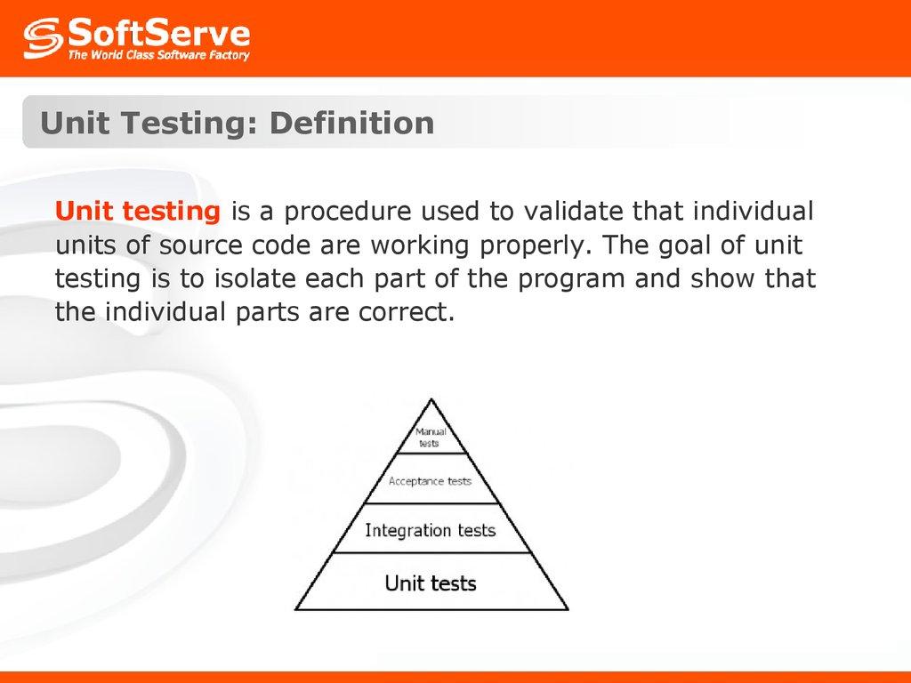 testing  testing types