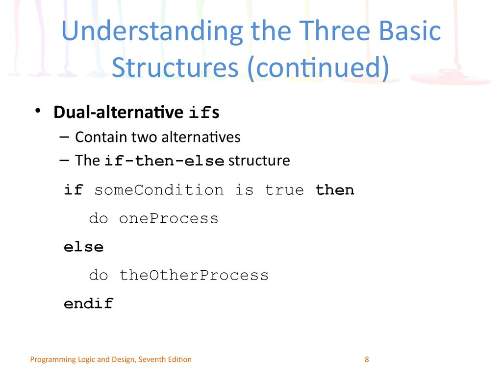 three basic structures of structured programming Cis110 computer programming design chapter  cis110 computer programming design  that do not follow rules of structured logic • three basic structures.