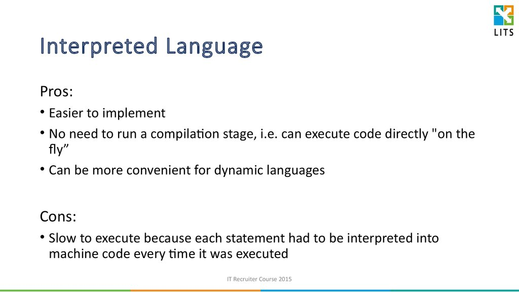 java script an interpreted computer programming A scripting or script language is a programming language that supports scripts: programs written for a special run-time environment that automate the execution of tasks that could alternatively be executed one-by-one by a human operator scripting languages are often interpreted (rather than compiled) primitives are.