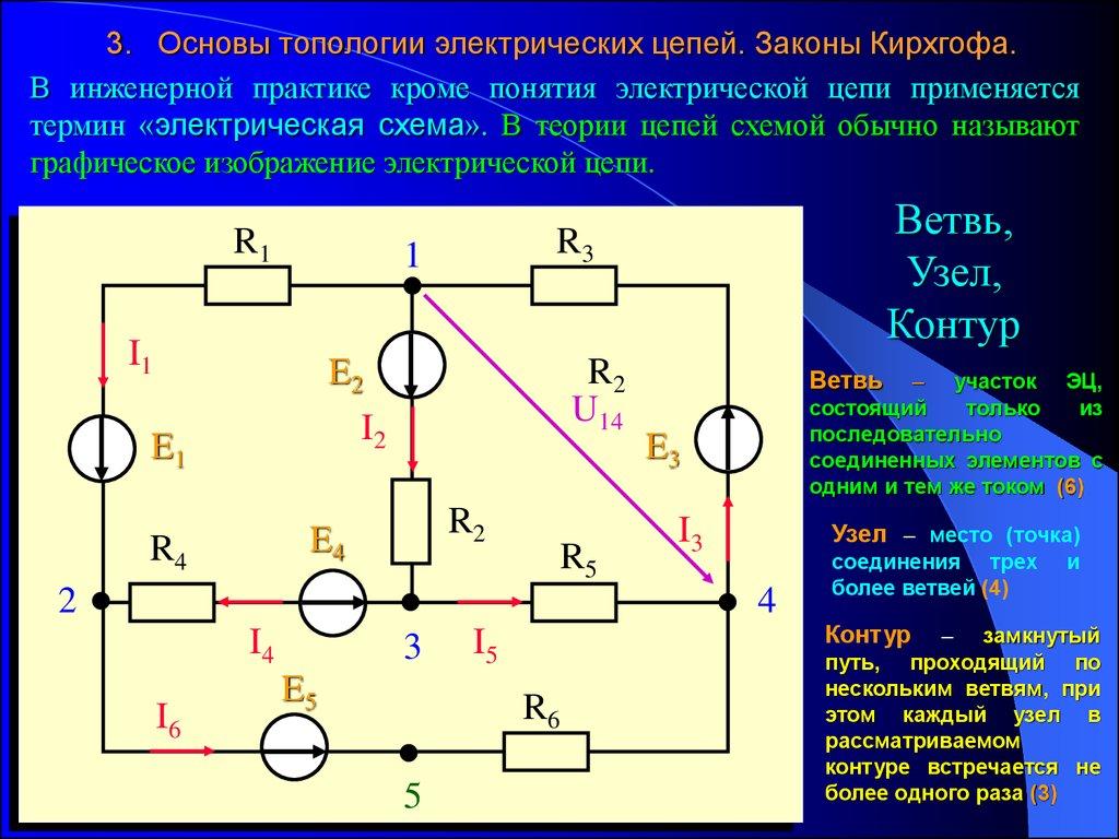 Пример решение задач на закон кирхгофа