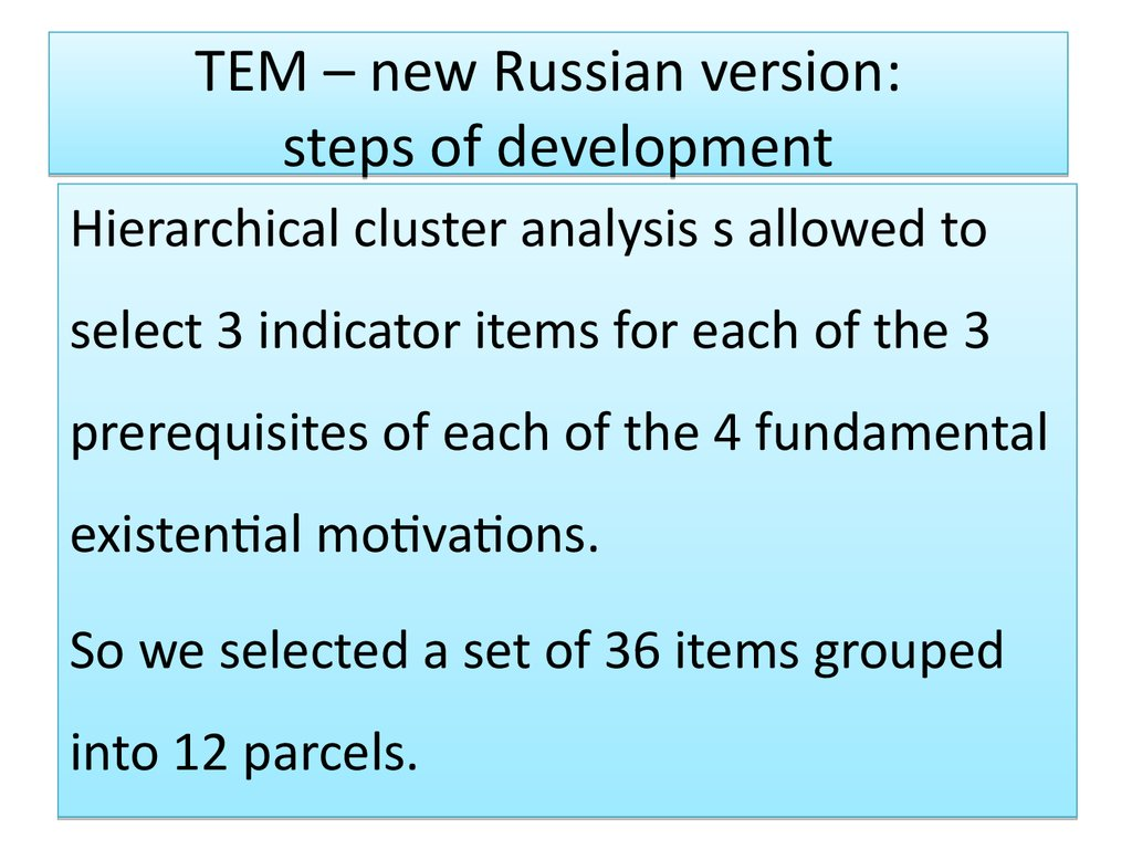 Russian thought 12 theses in