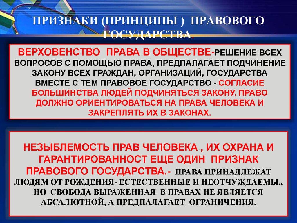 презентация основы конституционного строя