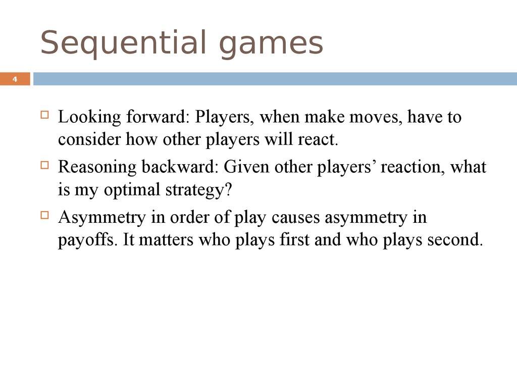 Asymmetric coordination game