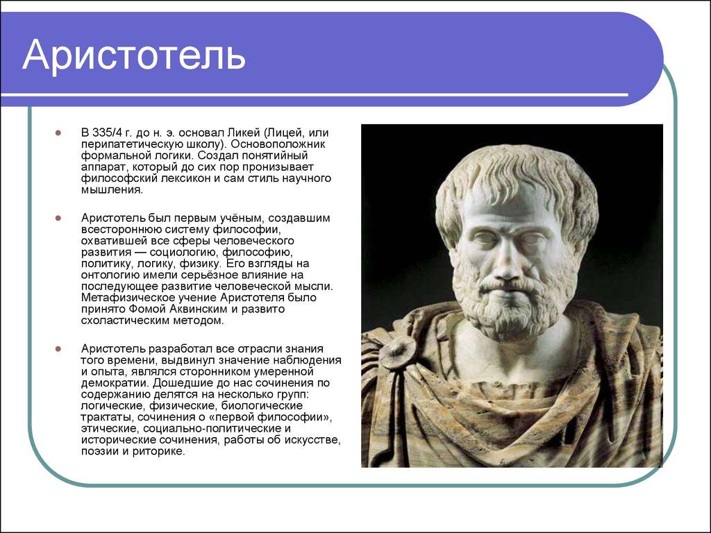 biography of aristotle essay