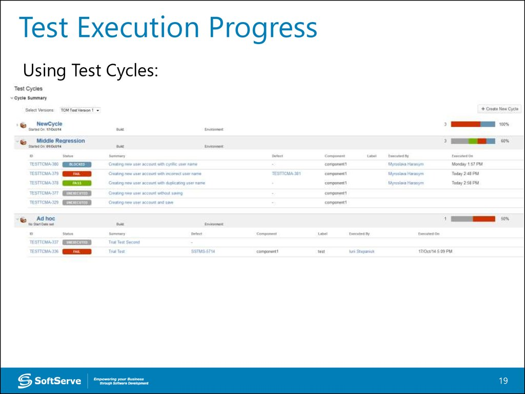 Test Execution Version Control Systems презентация онлайн