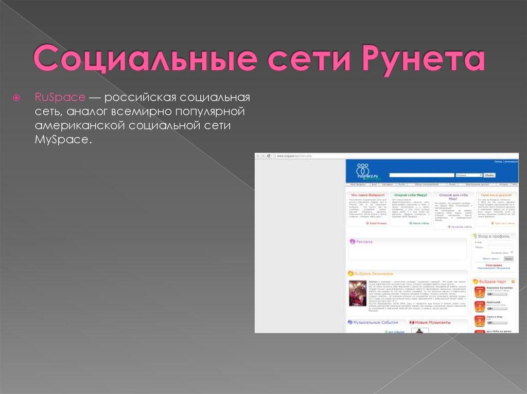 социальные сети сайт общения и знаком