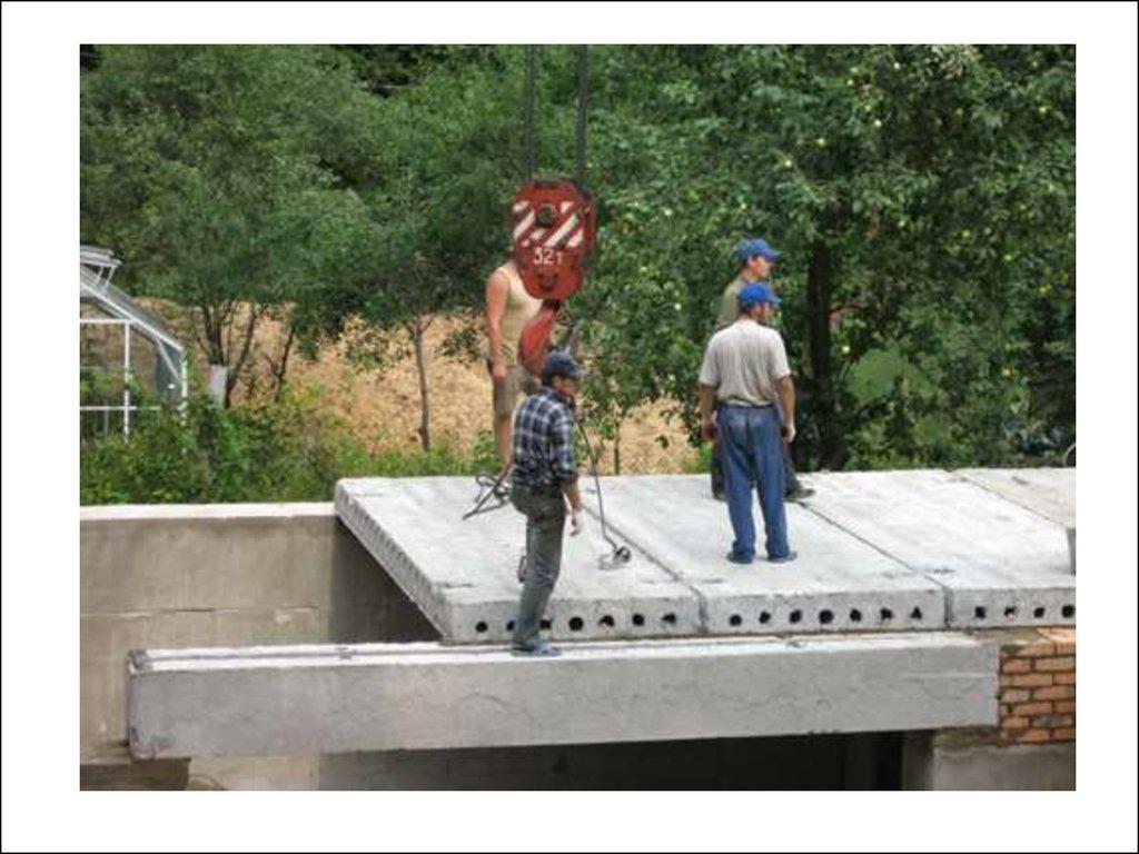 Межэтажные перекрытия в строительстве - технологии строитель.