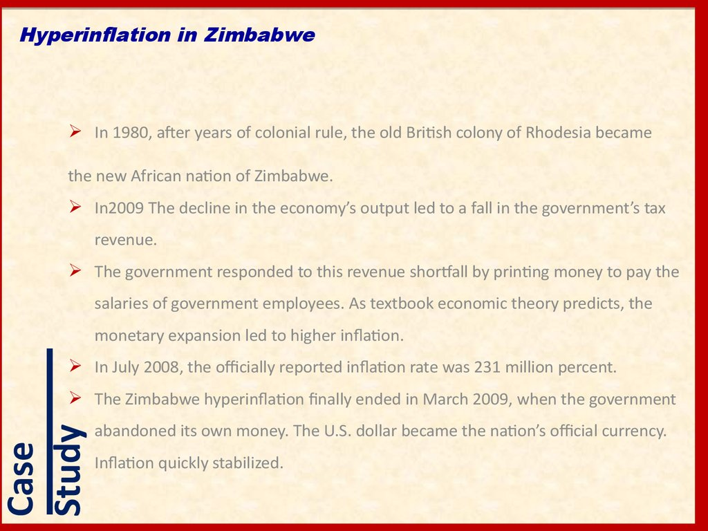 inflation its causes and effects This topic looks at what is money, its characteristics, function and value it also looks at inflation, its causes, the effects of inflation as we.