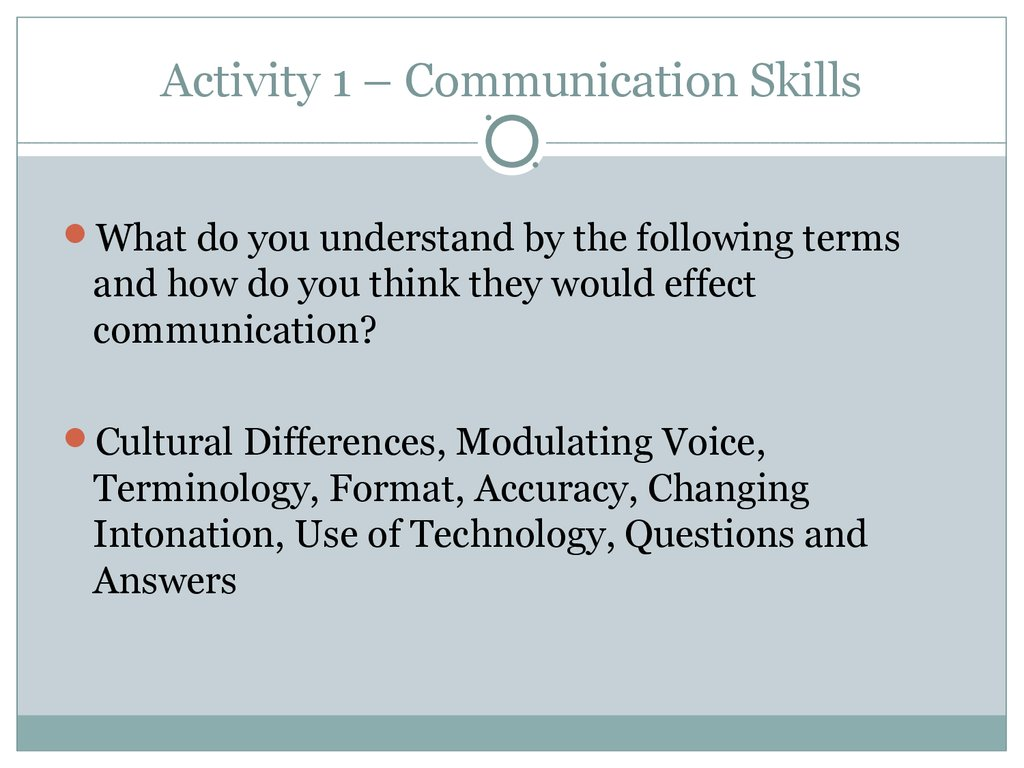 communication employability skills coursework