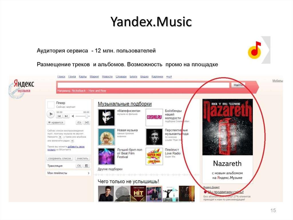Яндекс Музыка Android