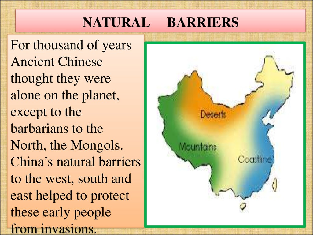 India S Natural Barriers