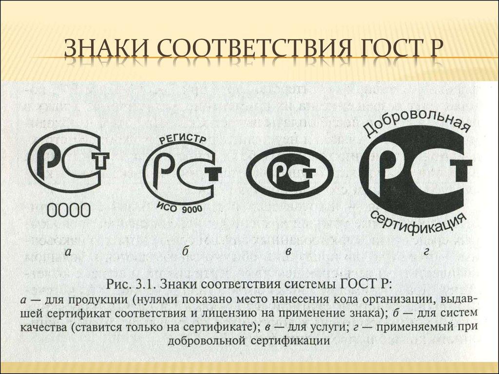 маркировка продукции знаком соответствия означает