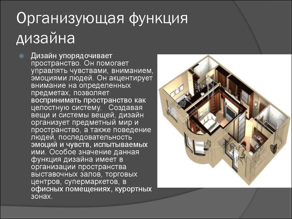 Организующая функция дизайна