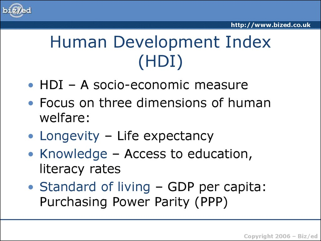 Limitations of GDP as an Indicator of Welfare