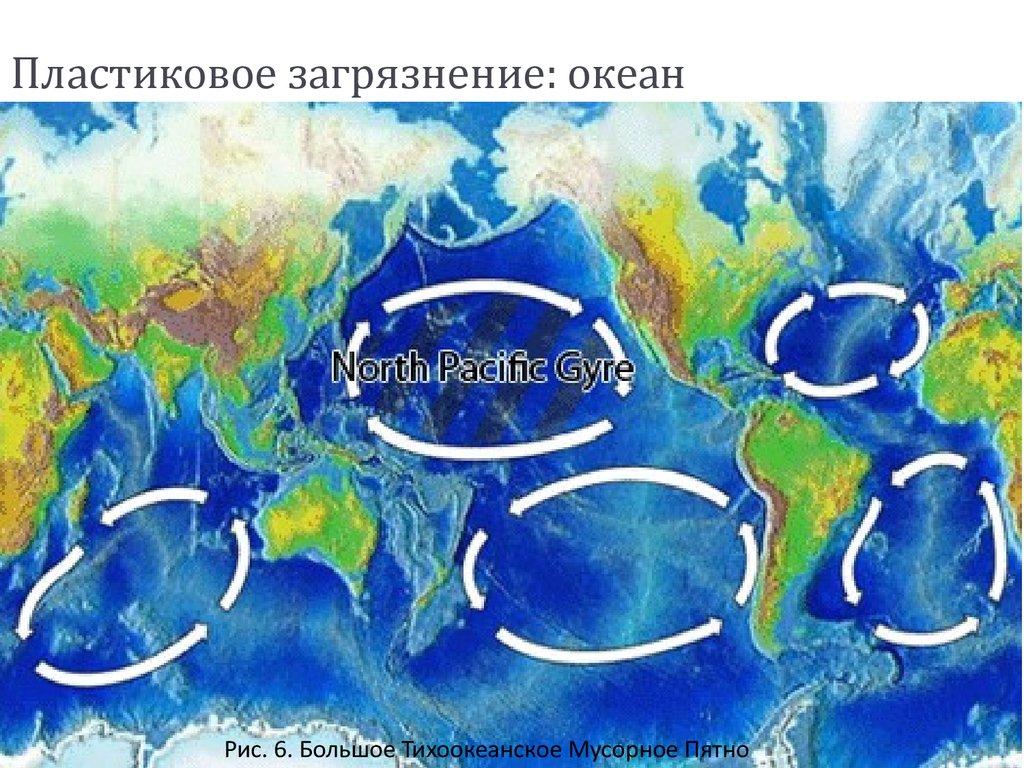 Загрязнение пластиком мирового океана