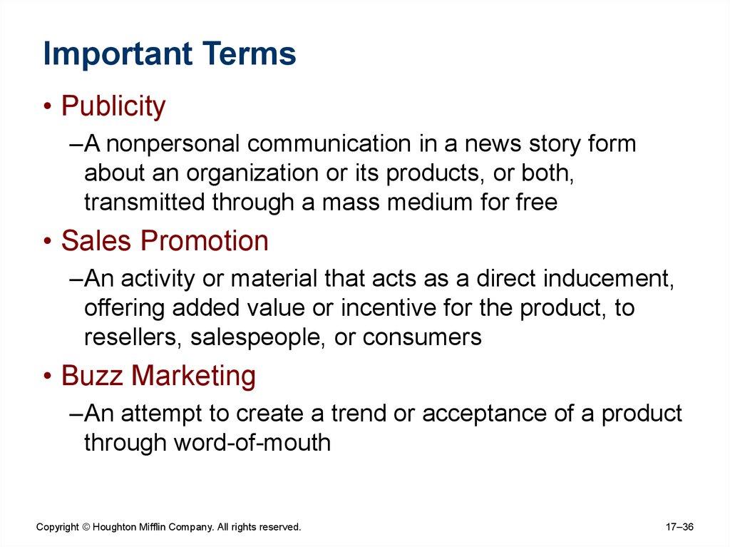 It's Raining Marketing: The Importance of Integrated Marketing Communications