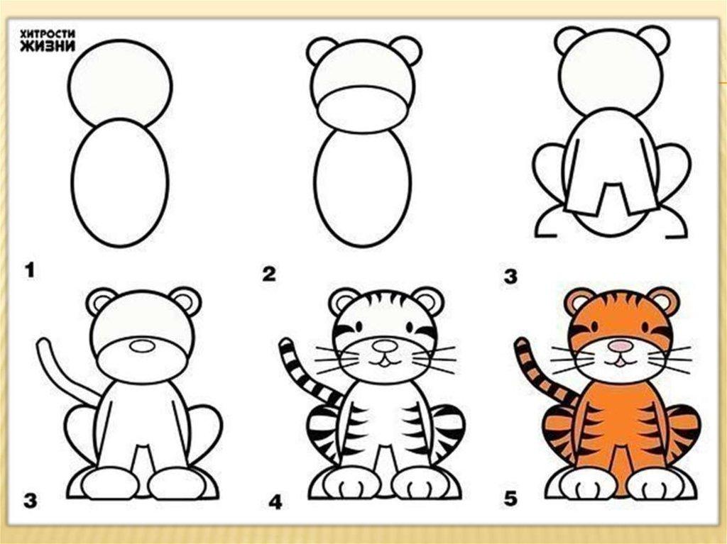 Картинки для детей рисовать своими руками 328