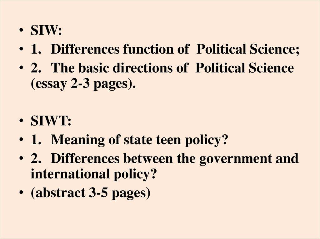 education economic development essay Political Science Essay Sample