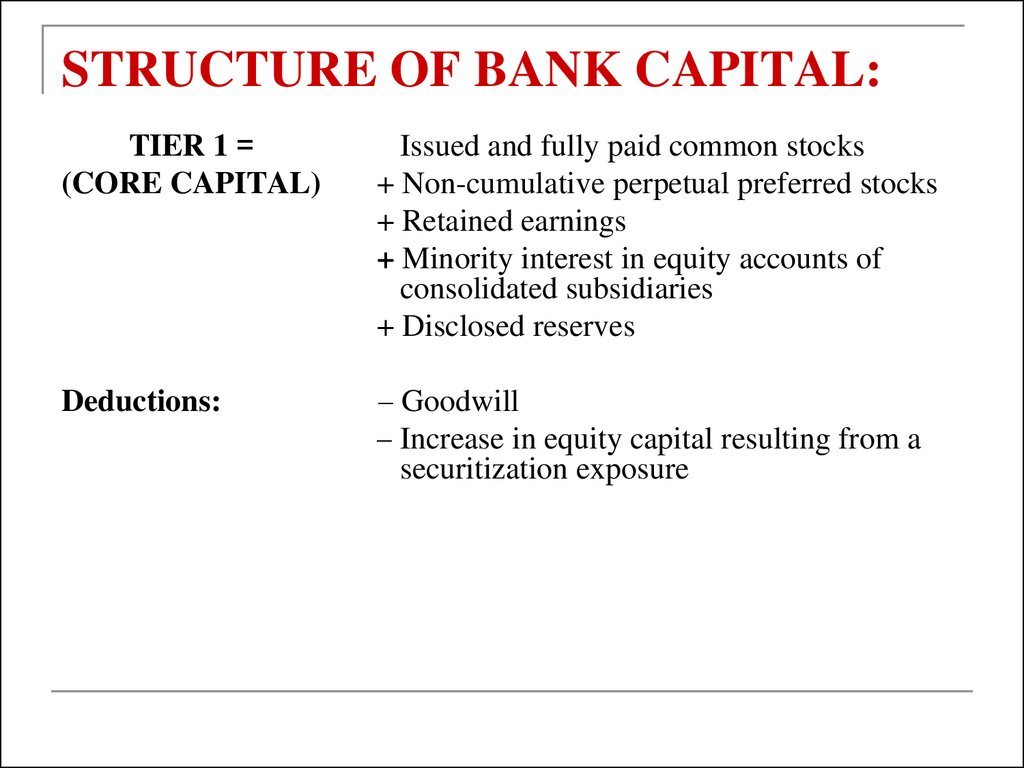 the structure of australian financial institutions Appendix: illustrative financial report structure page 47 australian implementation guidance page 56 basis for conclusions on ias 1  similar financial institutions specifies additional requirements for banks and similar financial institutions that are consistent with the requirements of this standard.