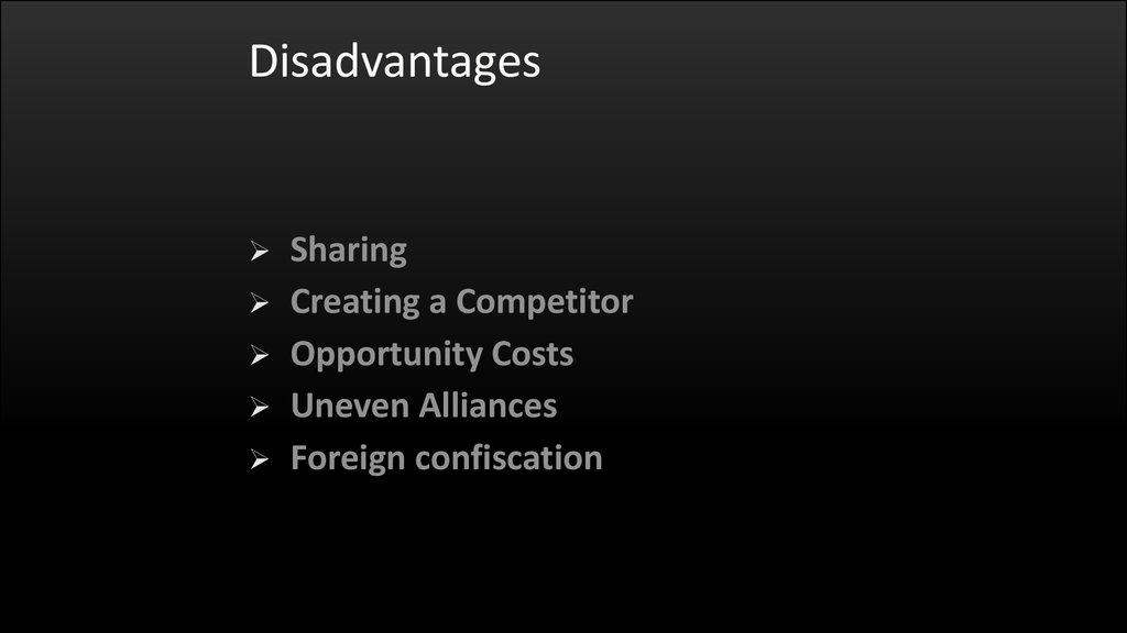 The Advantages & Disadvantages of International Franchises