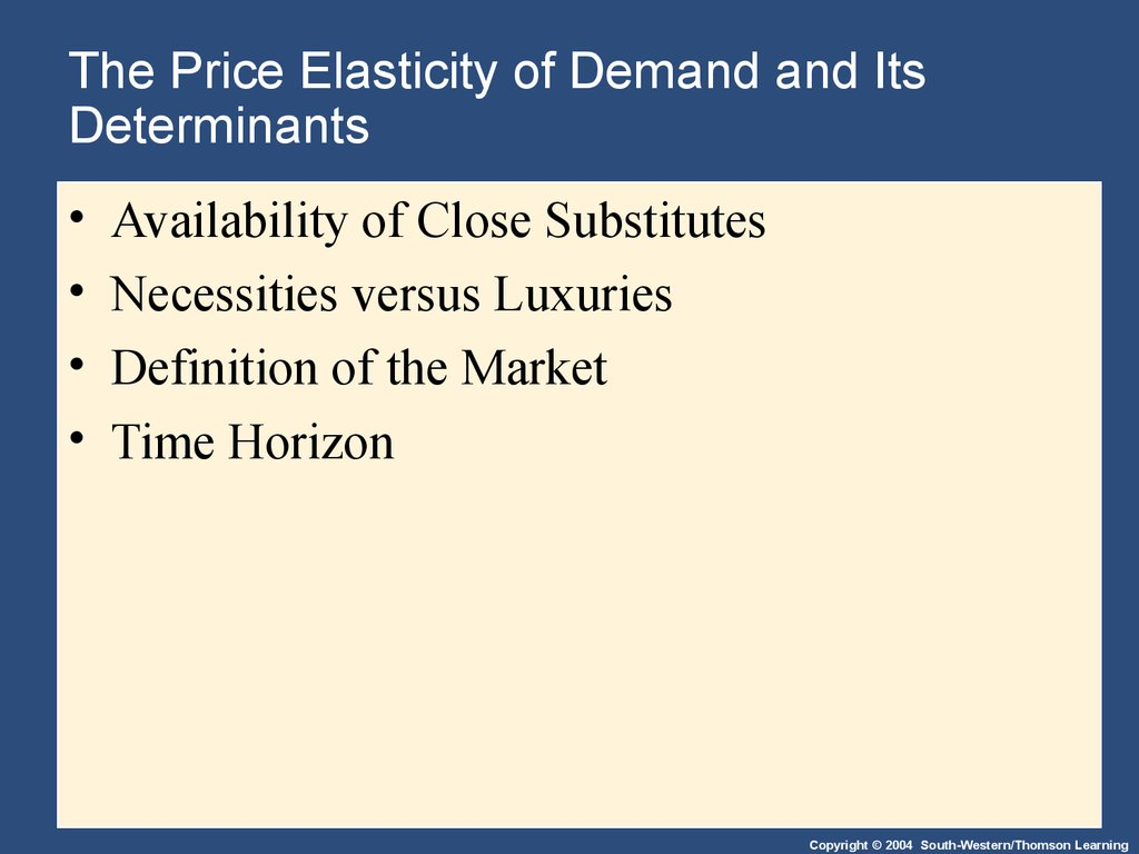 research paper on income elasticity of demand Another important type of elasticity is the income elasticity of demand ceteris paribus1 ceteris paribus documents similar to marijuana research paper skip.