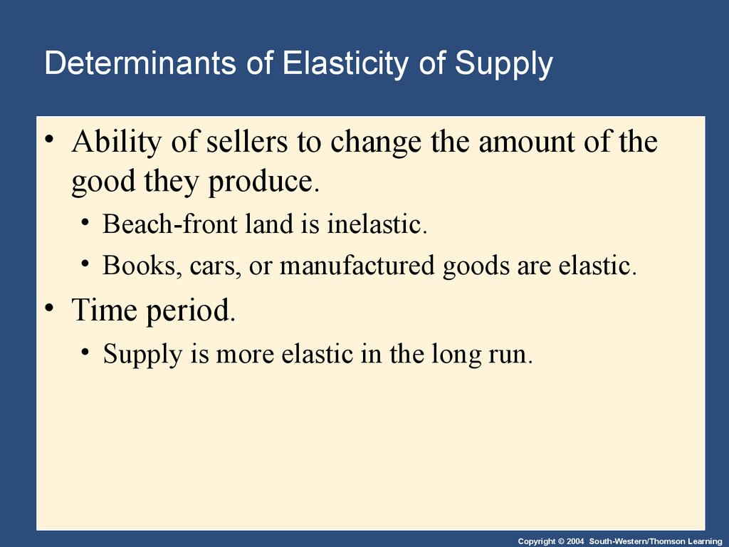 determinants of the market demand curve economics essay 3-1 explain the law of demand why does a demand curve slope downward how is a market demand curve derived from individual demand curves as prices change because of a change in supply for a commodity, buyers will change the quantity they demand of that item.