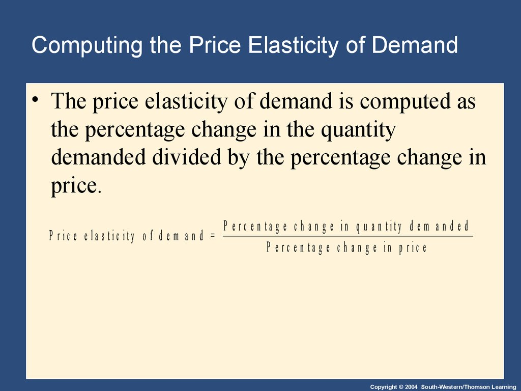 supply demand elasticity essay Explain elasticity of supply and demand and how this relates to your pricing decision determine if your prices will be higher, lower, or the same for the new location.