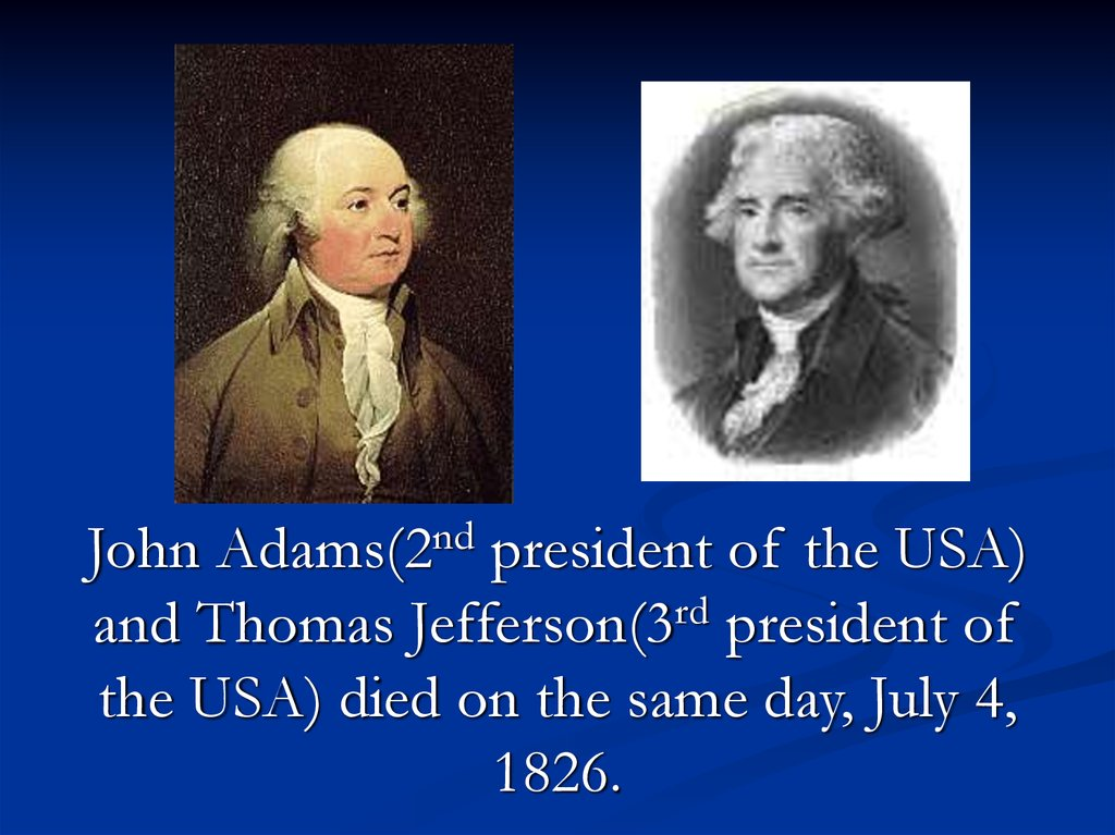 Some Interesting Facts About American Presidents