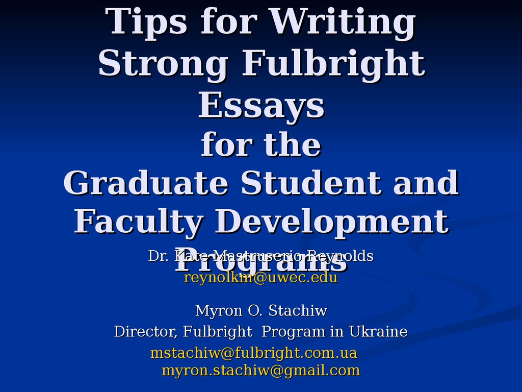 academic writing for graduate students ppt