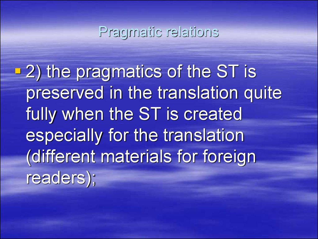 equivalence in translation 2 essay We will write a custom essay sample on equivalence in translation  priority  over verbal consistency or word-for-word concordance, (2) dynamic equivalence .