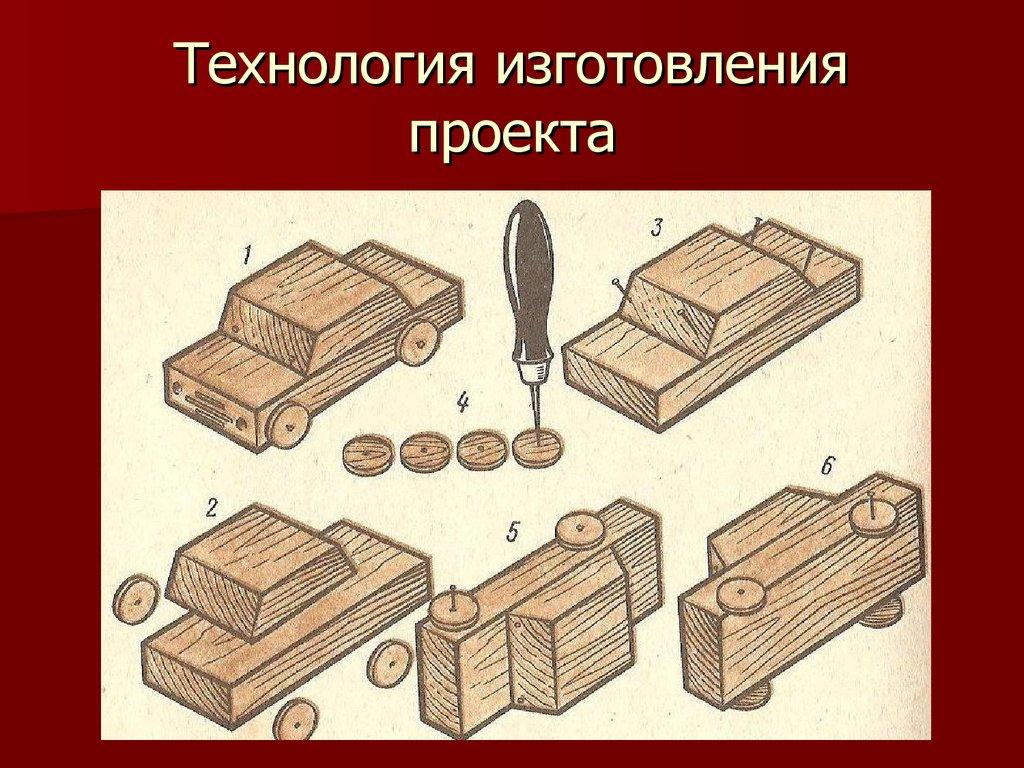 Сделать машинку из дерева своими руками 139