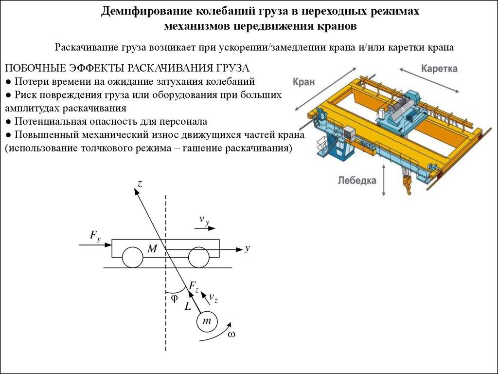 Схема электропривода мостового крана фото 626