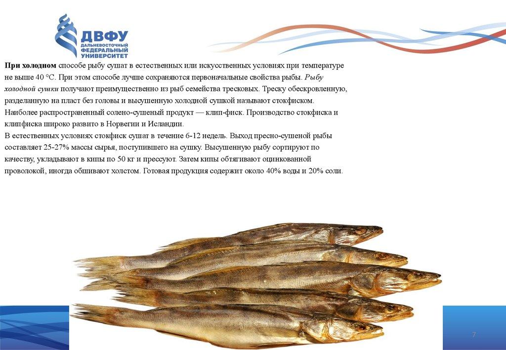Как сделать сухую рыбу