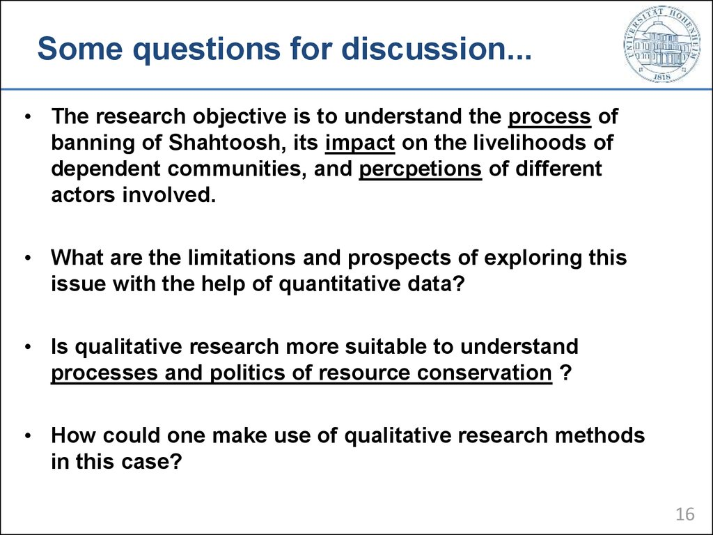 a research question is developed only after review of the literature Conducting a literature review undertake a literature review near the outset of a research effort, if only to formulated a specific research question.