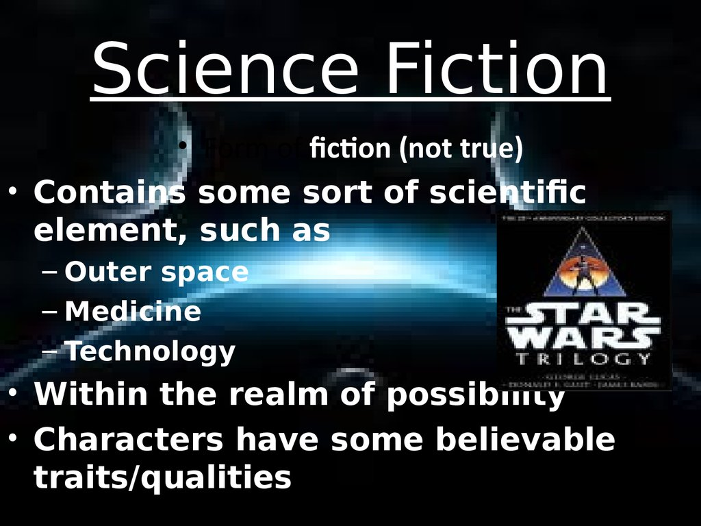 essays science fiction elements