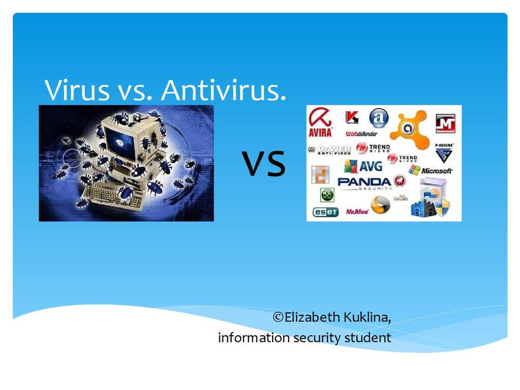 Virus Vs Antivirus презентация онлайн