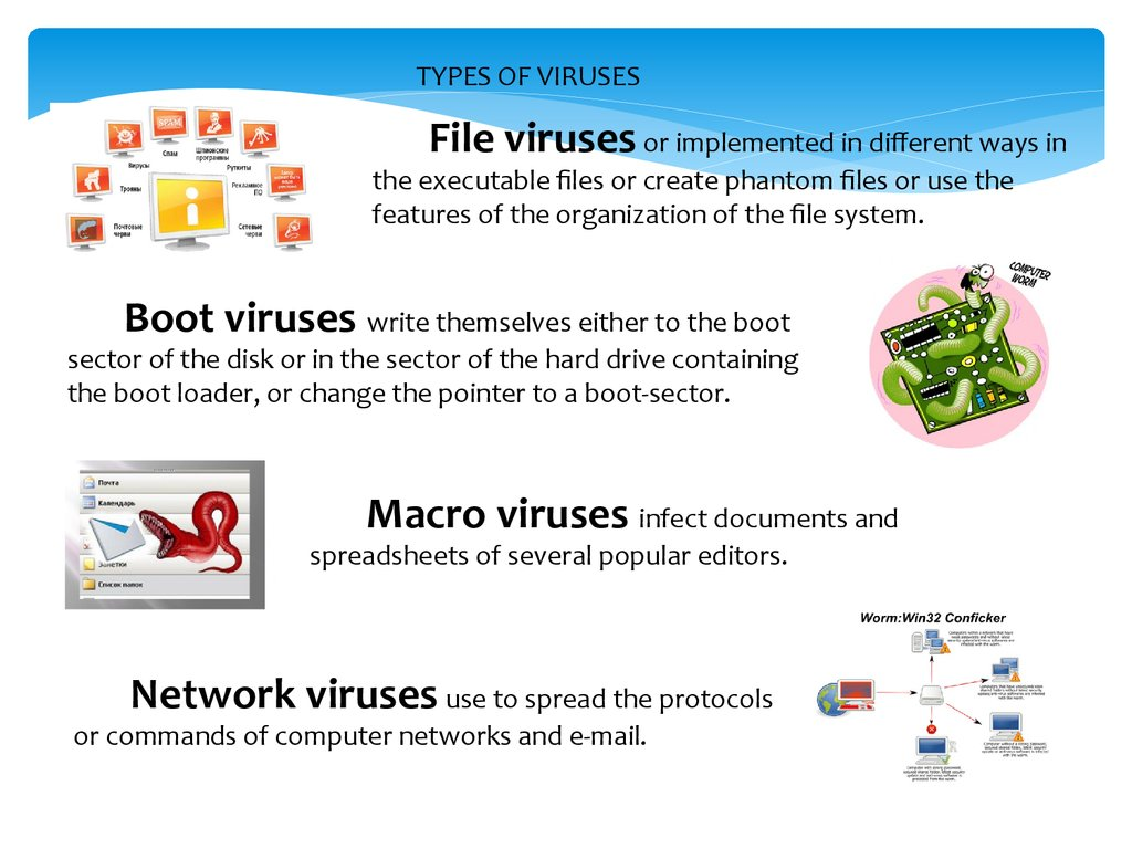types of computer antivirus pdf