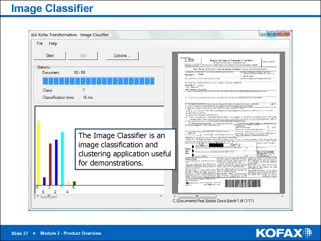 Kofax Transformation Modules 5 Module 2 Product