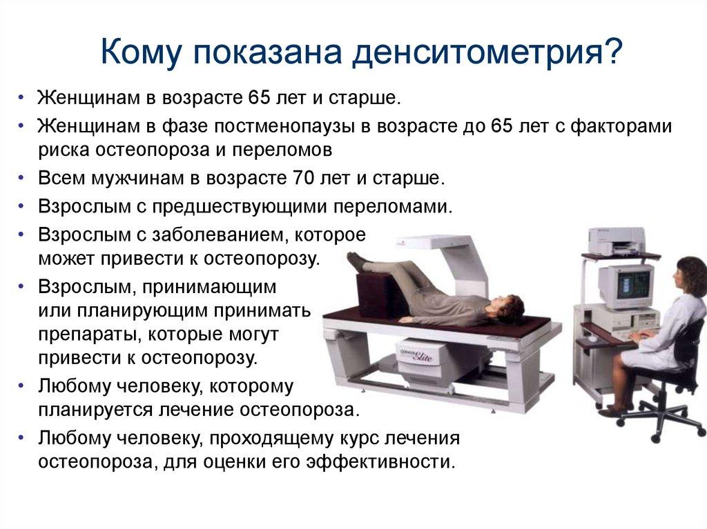 Рентгенография Количественная