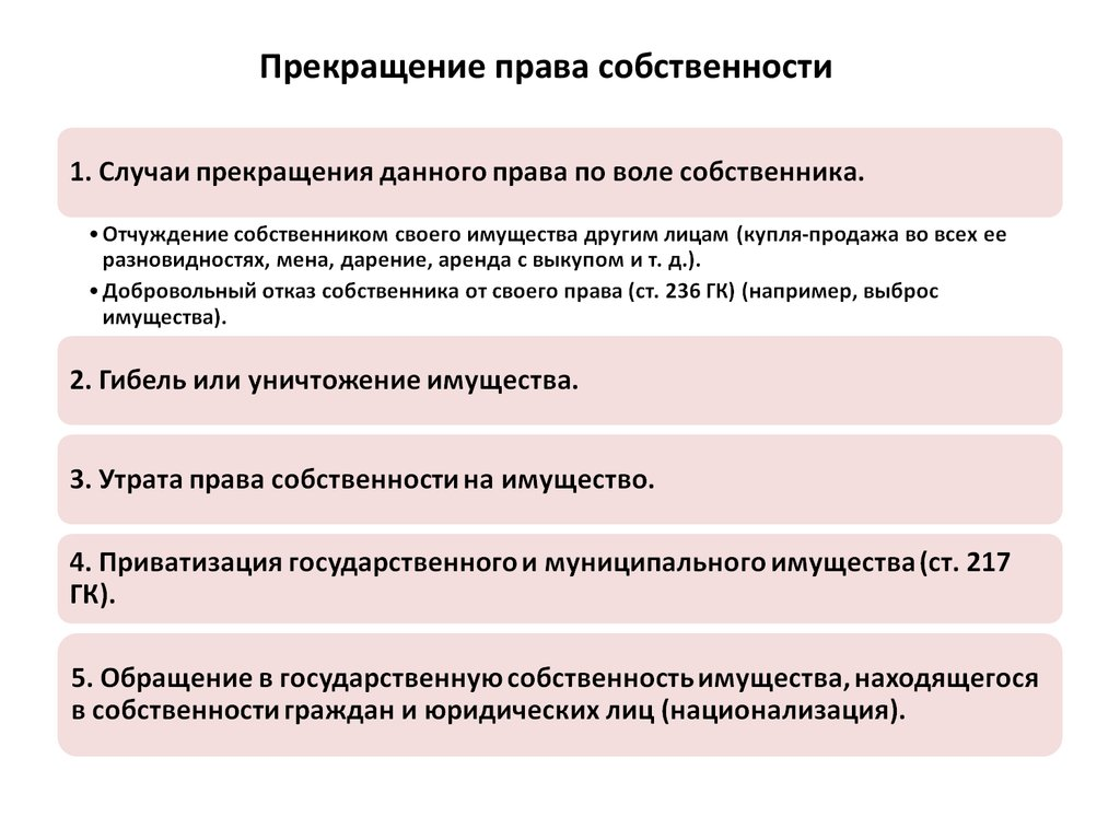 Гк рф статья236 открытость