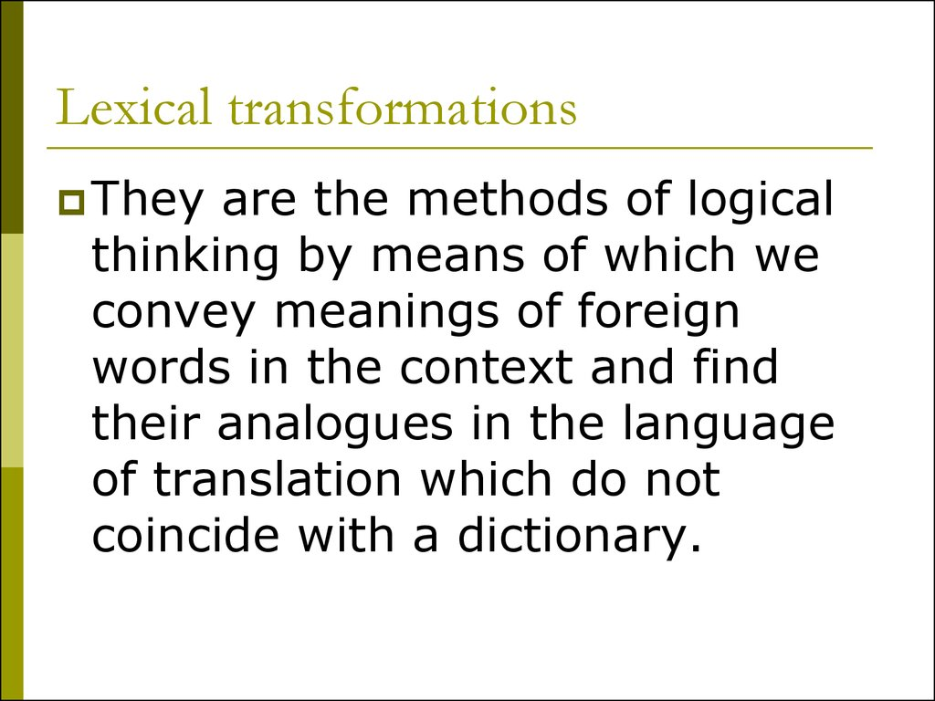 lexical and semantic changes in modern english Keywords: semantic change, functional shift, lotro, mmorpg, english, pejoration, word formation process, metaphorical great number of new words in the english language, many of them created through functional shift such as the denominal the study concentrates on lexical items that are already established as.