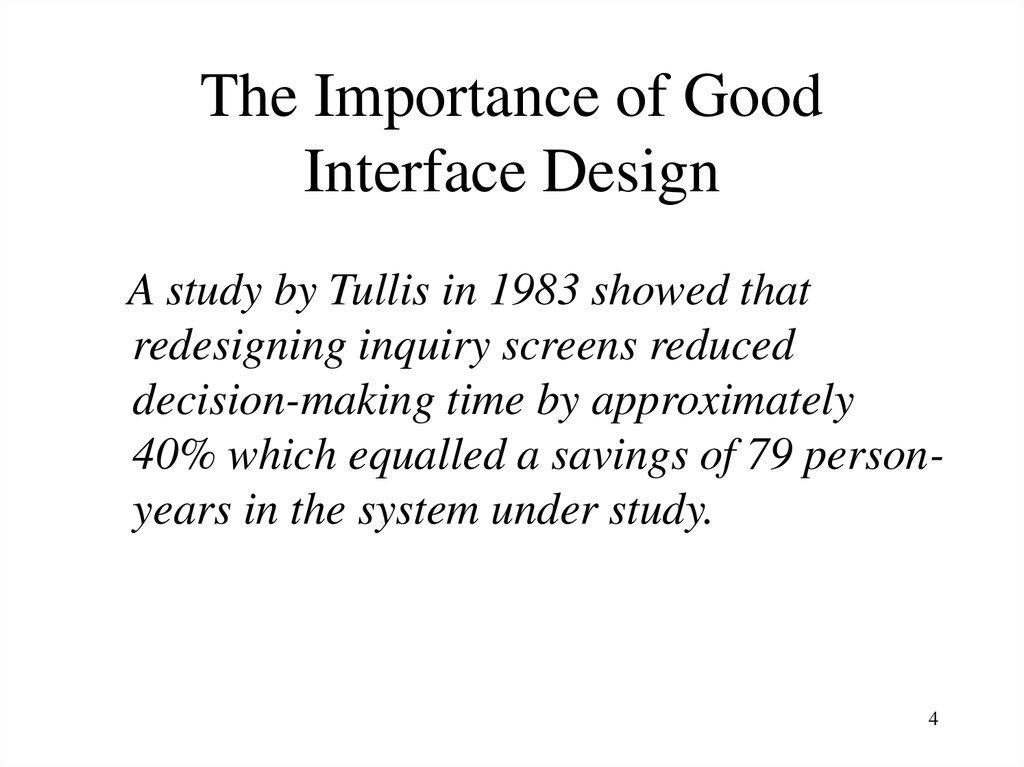 Interface Design The Importance Of User Interface Design
