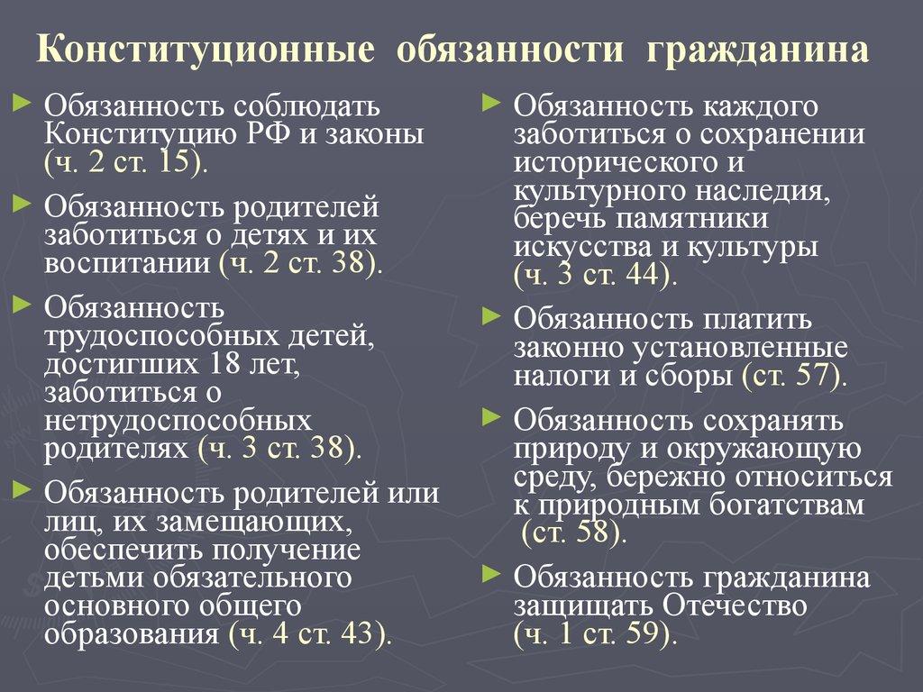 элементы правового статуса несовершеннолетних 14-18 лет