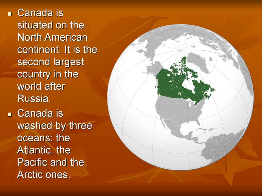 Is canada part of the american continent