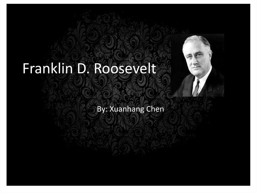 franklin d roosevelt a great american Americans celebrate franklin d roosevelt as the president who led them out of  the great depression of the 1930s and through the greatest.