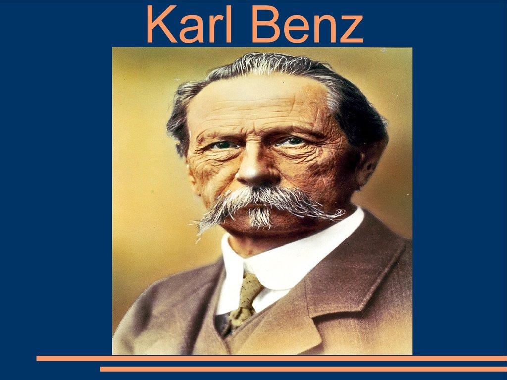 Karl Benz презентация онлайн
