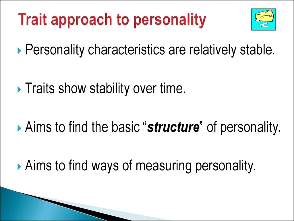 approaches to personality essay